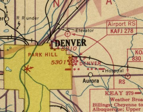Abandoned & Little-Known Airfields: Colorado: Northeastern Denver area