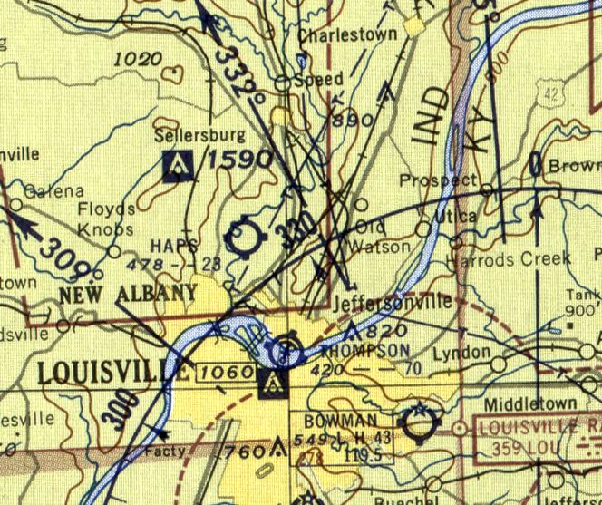 Abandoned & Little-Known Airfields: Southern Indiana