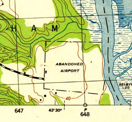 The Earliest Map Depiction Which Has Been Located Of Riverside Field Was On The 1944 Usgs Topo Map