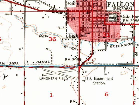 Abandoned LittleKnown Airfields Northwestern Nevada - Reno nevada casino map