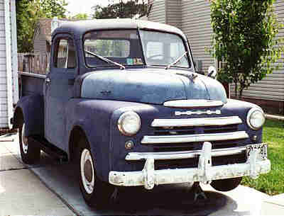 Dodge trucks of the 50's & 60's.