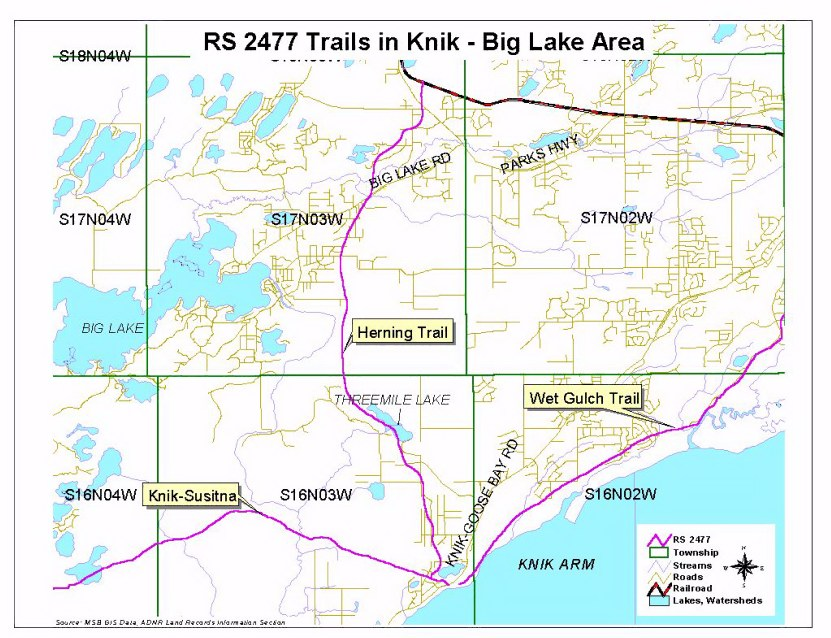 Knik Historic Trails