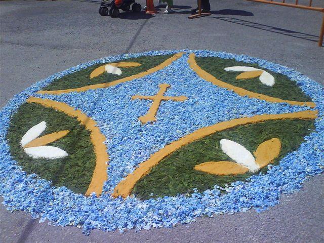 San Tirso De Abres Alfombras Florales De Las Fiestas Corpus Christi