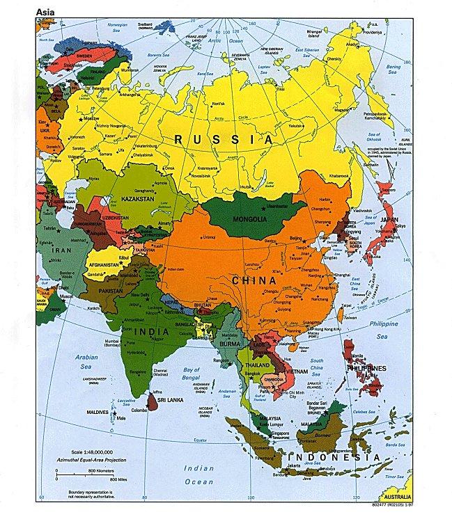 Asien weltkarte politisch karte landkarte städte länder picture
