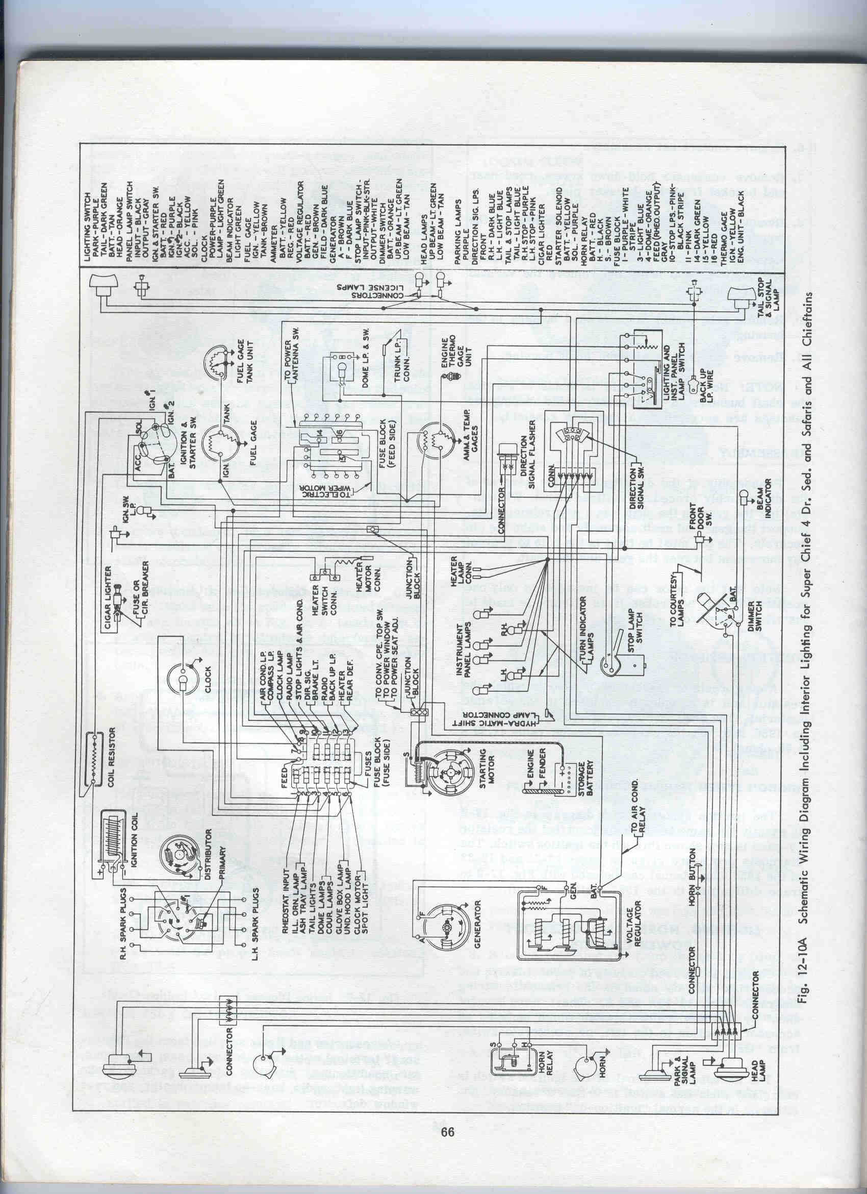 ilk 1953 wiring diagrams cadillac basic trailer wiring diagram 1954 Pontiac Chieftain at n-0.co