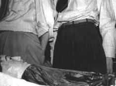 The body of Elena Hoyos, after its discovery in von Cosel's home.
